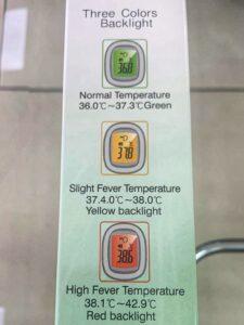 Termometru non-contact 2